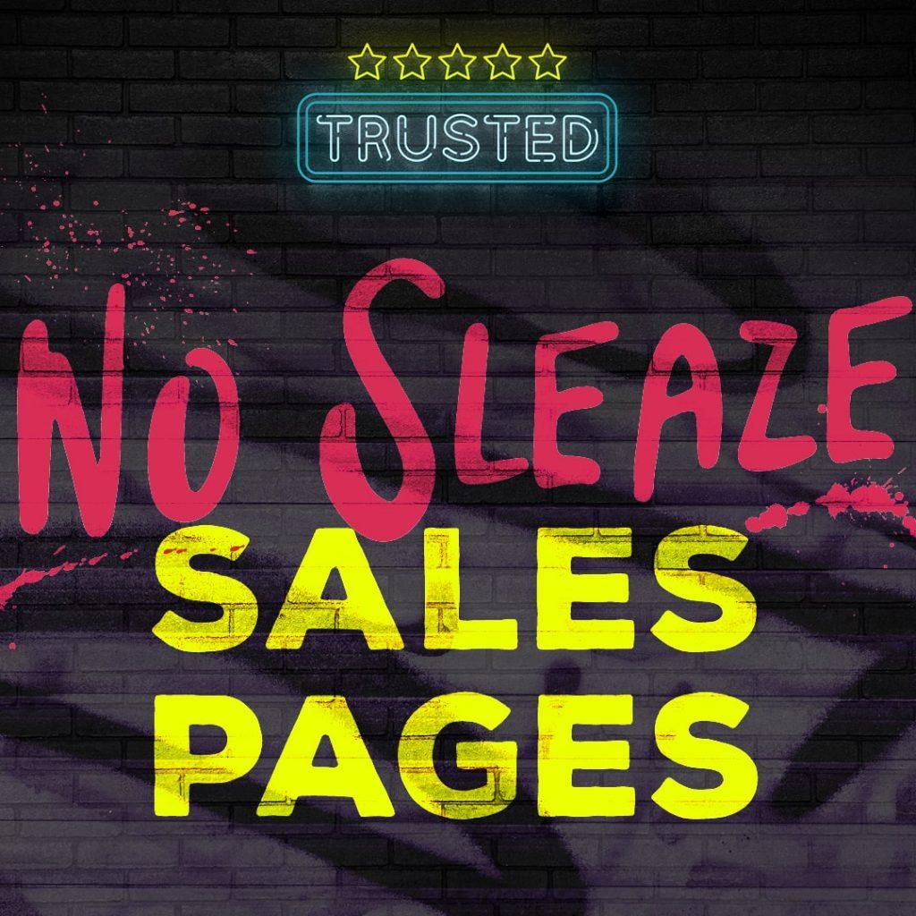no-sleaze-sales-pages