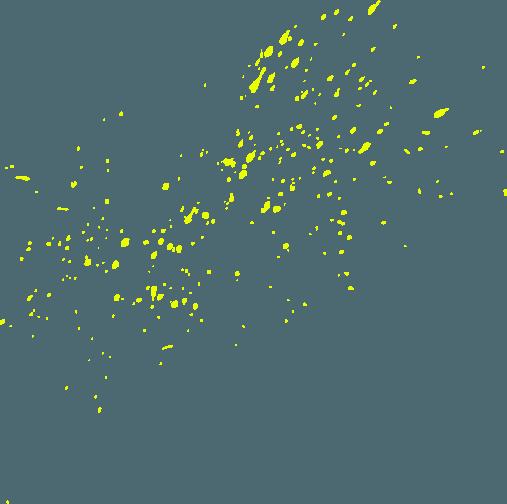 Yellow Splatter 1